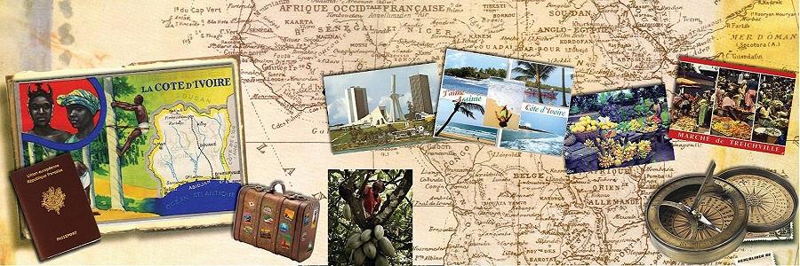 carte postale de la côte d'ivoire