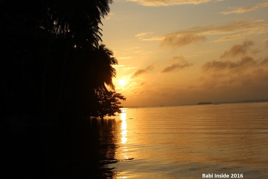 île boulay coucher de soleil