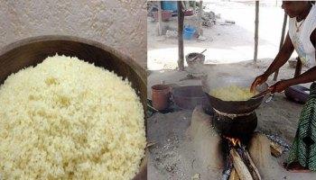cuisson de l'attieke