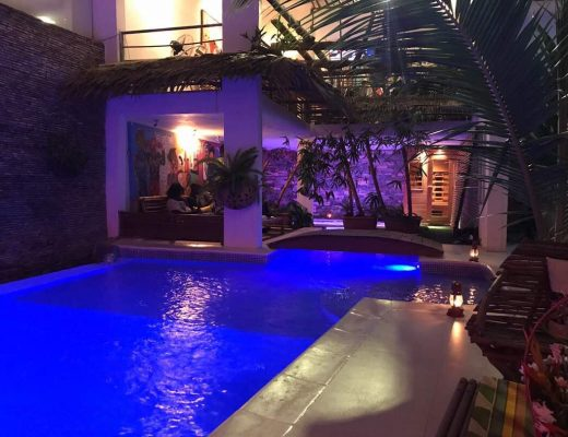 Ecologe piscine nuit