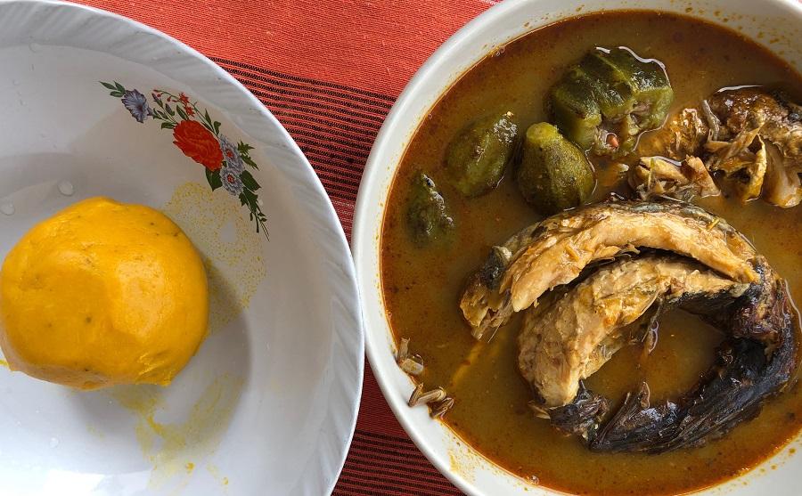 foufou cuisine ivoirienne