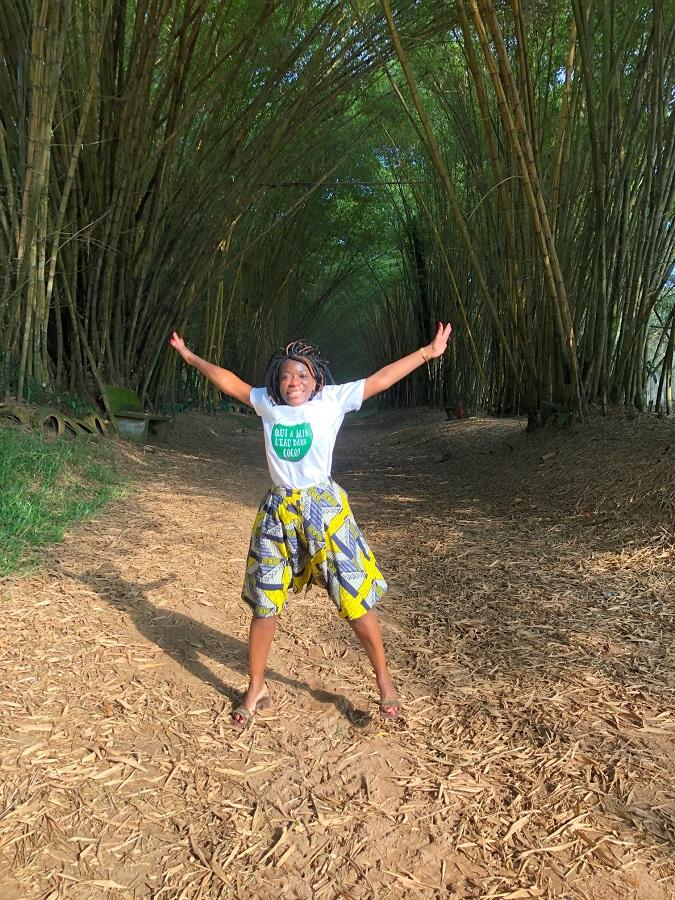 Allée Bambous Bingerville